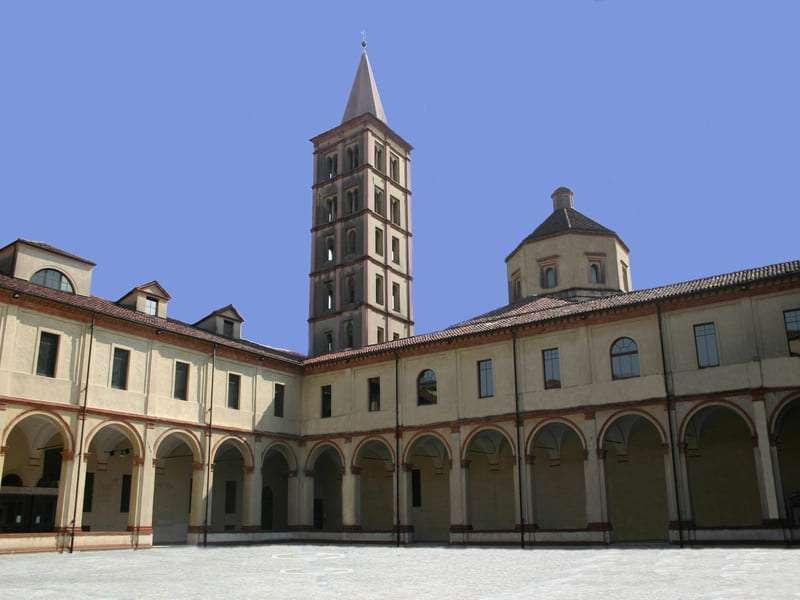 Biella museo con campanile