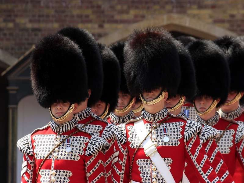Londra cambio della guardia a buckingham palace