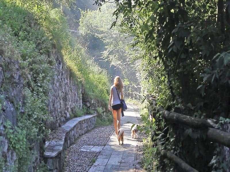 Sentiero Via Valeriana